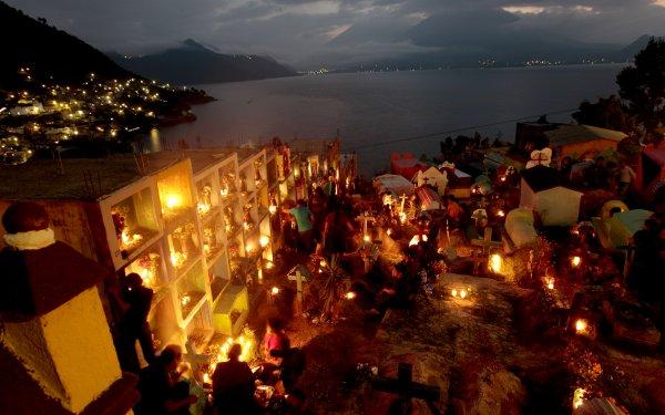 Colores de Noviembre enGuatemala.