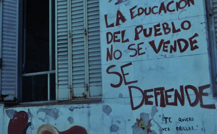 Danger, escuela pública. Portfolio de DamiánPagliano.
