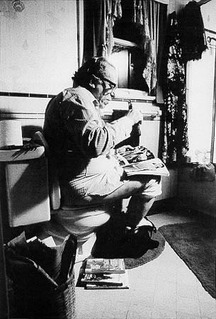Bukowski y las barberías. La genialidad y elodio.