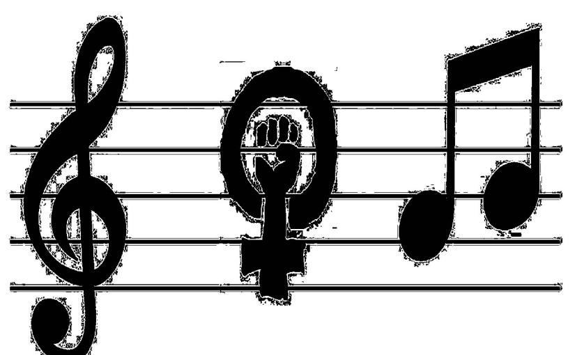 Mujeres musicalizando