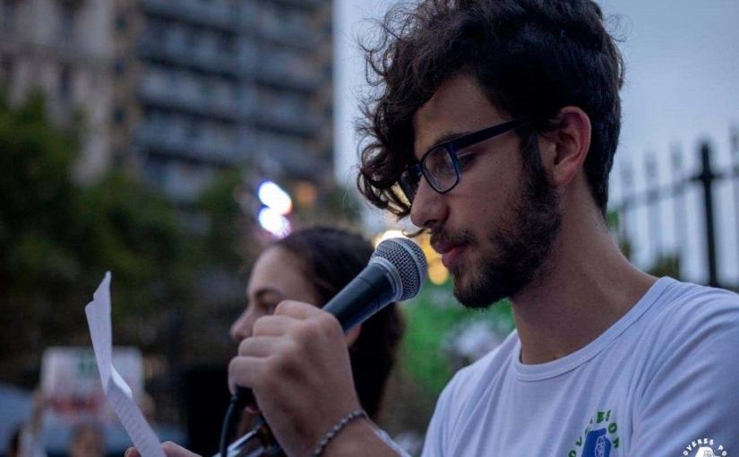 """Eyal Weintraub: """"El ambientalismo y el feminismo son un primer acercamiento a la política para toda una generación dejóvenes."""""""