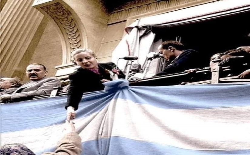 Eva Perón y sutiempo